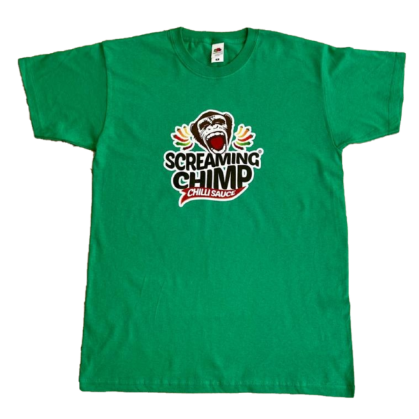 Screaming Chimp TShirt – New Design